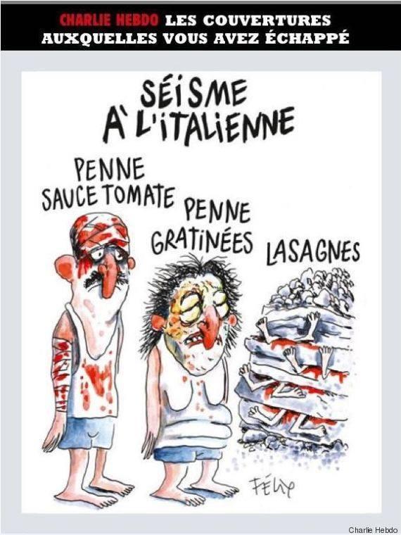 Terremoto: sulla pagina Facebook di Charlie Hebdo molti i commenti negativi