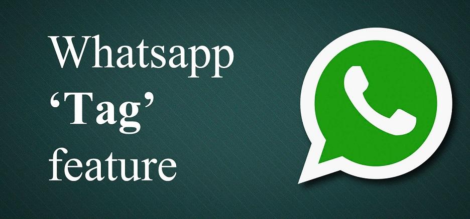 whatsapp tag