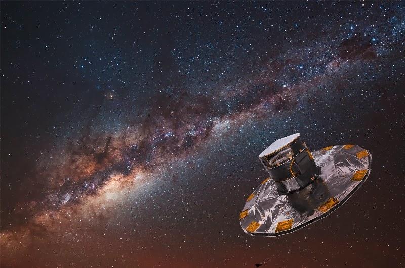 """Spazio, missione """"Gaia"""": verso la prima mappa tridimensionale della nostra galassia"""