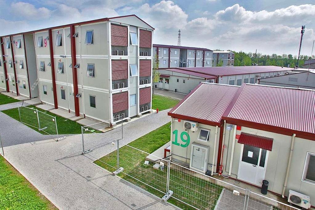 Terremoto: la Regione Lombardia mette a disposizione i moduli abitativi del campo base di Expo [GALLERY]