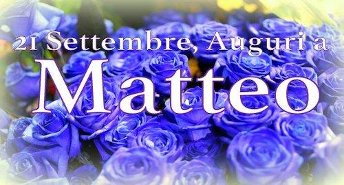 21 settembre, oggi si ricorda San Matteo: le immagini per augurare buon onomastico [GALLERY]