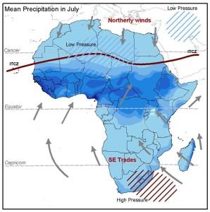 Piogge sul Sahara occidentale: anche quest'anno notevole surplus idrico in molte aree