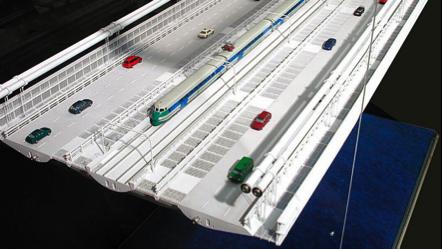 Ponte sullo Stretto, la scheda tecnica: sei corsie stradali e due binari, ecco come sarà