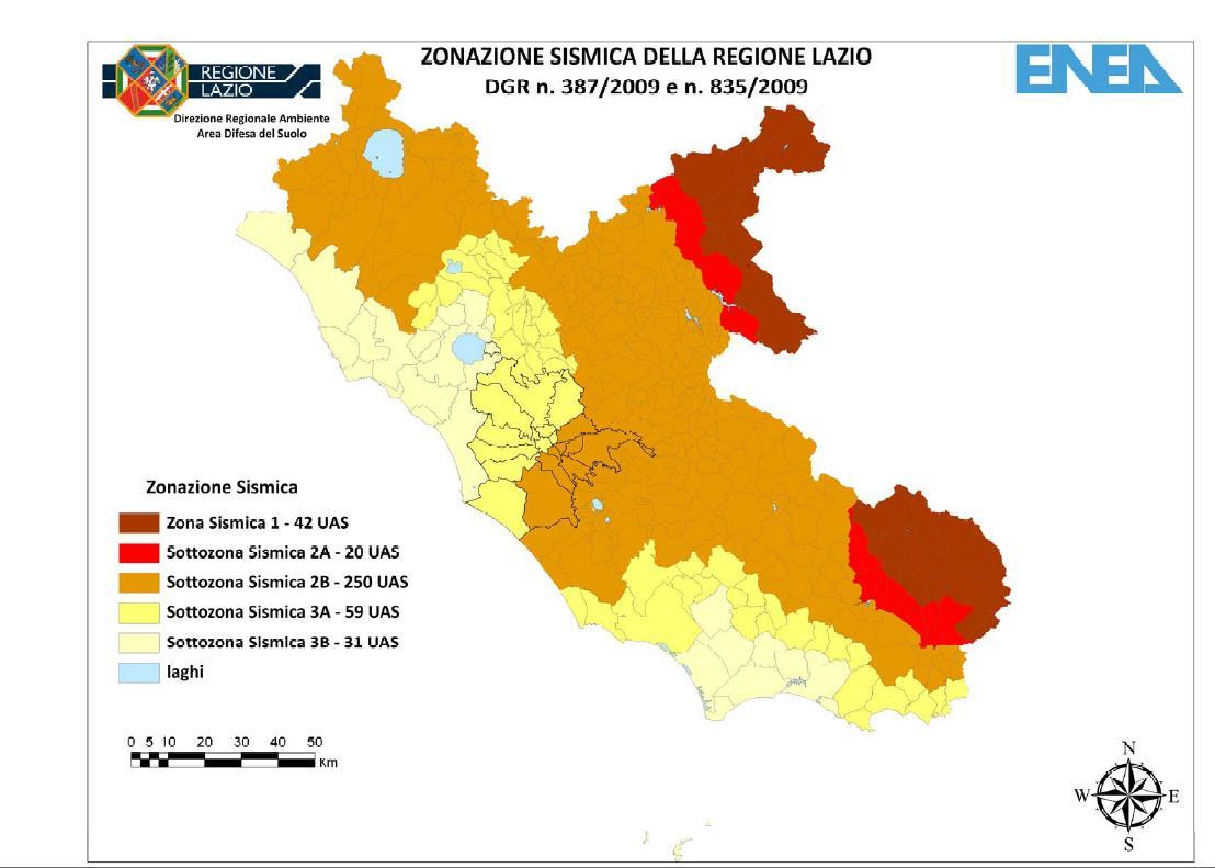 Sismicità nel Lazio: ecco i Comuni in zona sismica 1 (la più pericolosa)