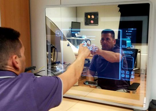 Salute lo specchio intelligente ti dice come stai meteo web - Lo specchio ti riflette testo ...