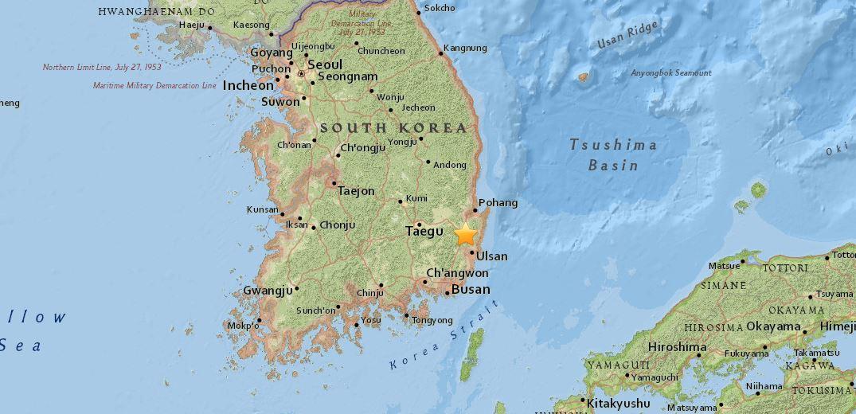 Scossa di terremoto in Corea del Sud: è la più forte dal 1998, panico a Seul