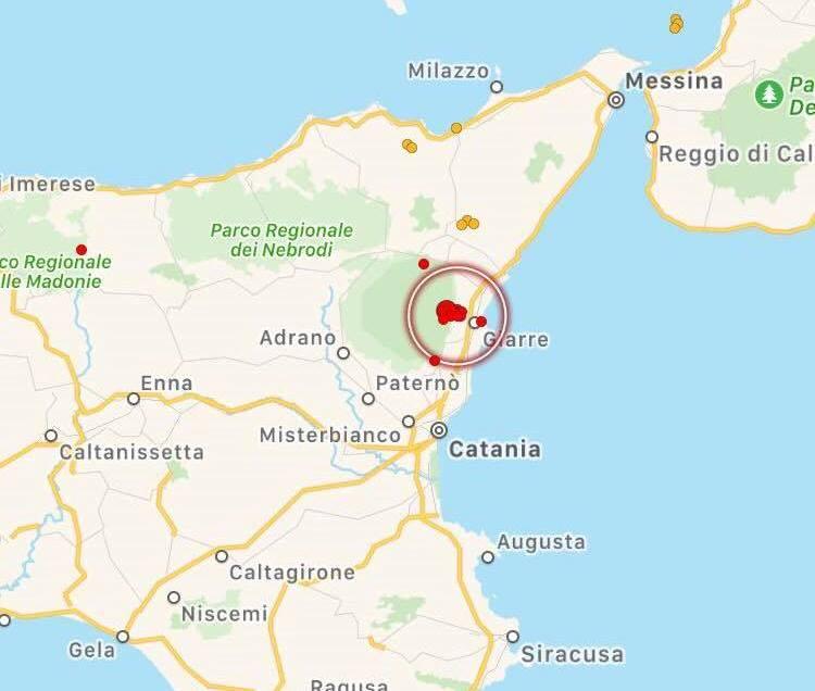 """Terremoto in Sicilia, sciame sismico sull'Etna. L'esperto INGV: """"movimenti collegabili alla pressurizzazione del vulcano"""""""