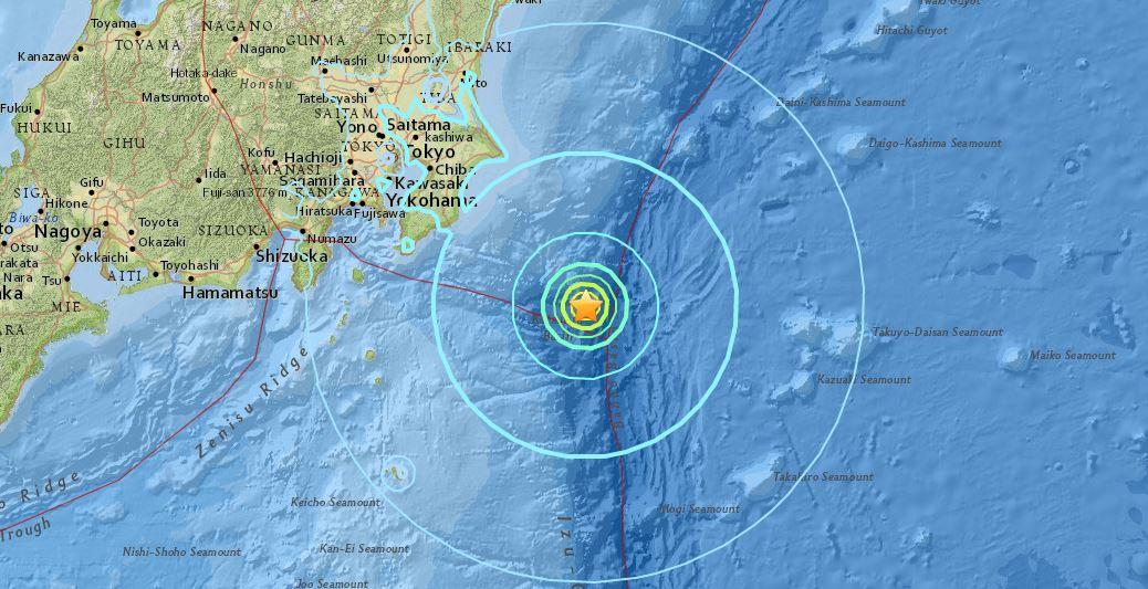 Scossa di terremoto magnitudo 6.2 in Giappone