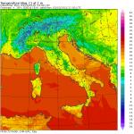 Previsioni Meteo Italia: piogge e temporali scivolano dall'Adriatico al Sud, imminente primo netto calo delle temperature [MAPPE]