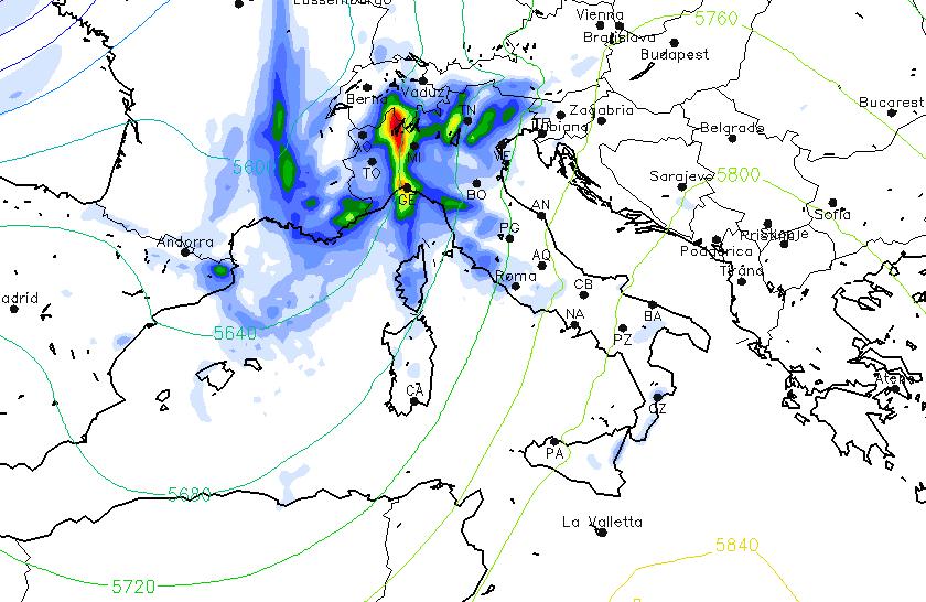 Allerta meteo da domani a sabato tre giorni di pioggia - Meteo bagno di romagna domani ...