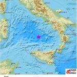 Terremoto, scossa 5.7 nel Tirreno: epicentro vicino il vulcano Marsili, nel piano di Wadati-Benioff [MAPPE]