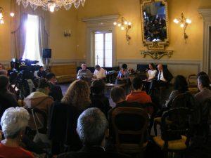Fiera delle Utopie Concrete - 2008 -Dibattito La conversione ecologica e politica 1