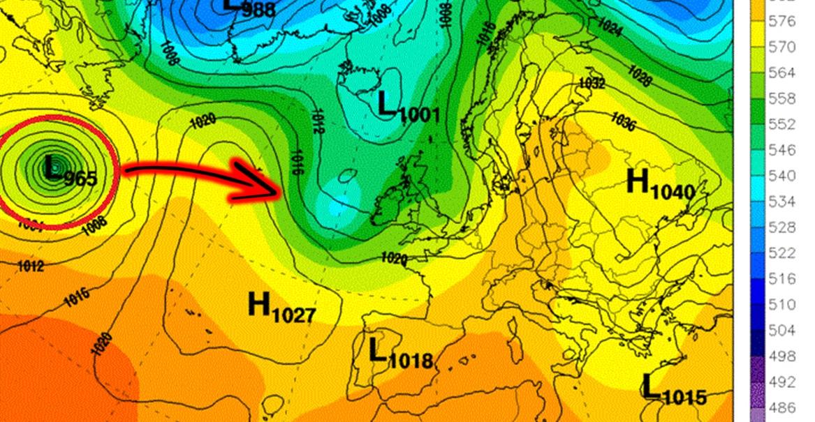 Dopo Matthew sull'Atlantico infuria l'uragano Nicole: si dirige verso Bermuda e Canada, poi potrebbe raggiungere l'Europa [MAPPE]