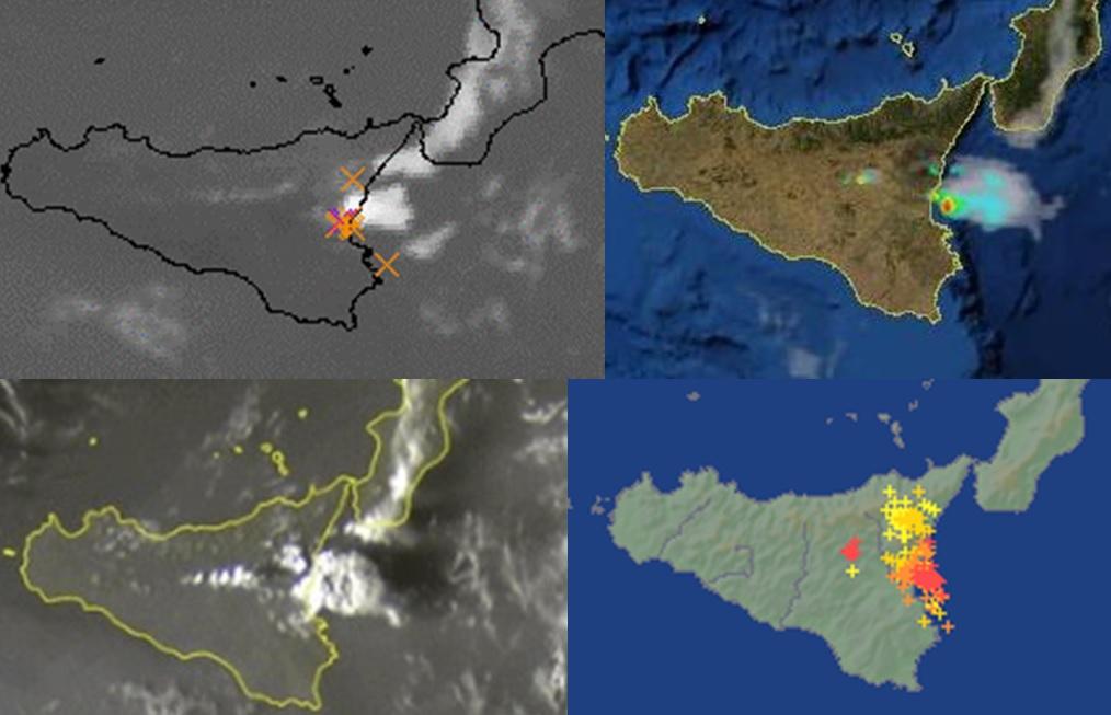 Maltempo, temporali anche sulla costa jonica della Sicilia