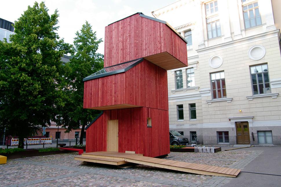 Kokoon l abitazione modulare che fronteggia le emergenze abitative meteo web - Modulos de casas ...