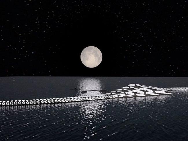 MORPHotel: l'hotel galleggiante che cambia forma a seconda delle correnti marine [FOTO]