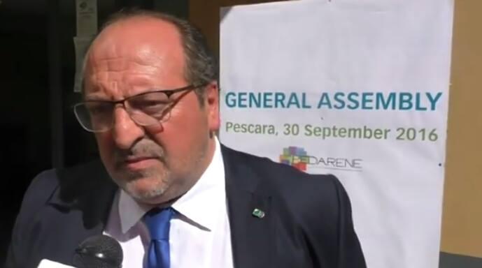 Ambiente, Fedarene: il Sottosegretario d'Abruzzo Mazzocca eletto Vice Presidente