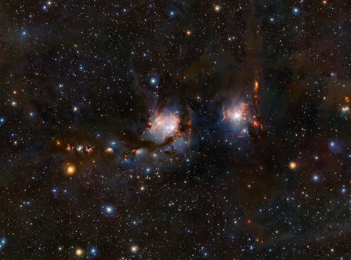 Astronomia: una nebulosa senza veli nella costellazione di Orione