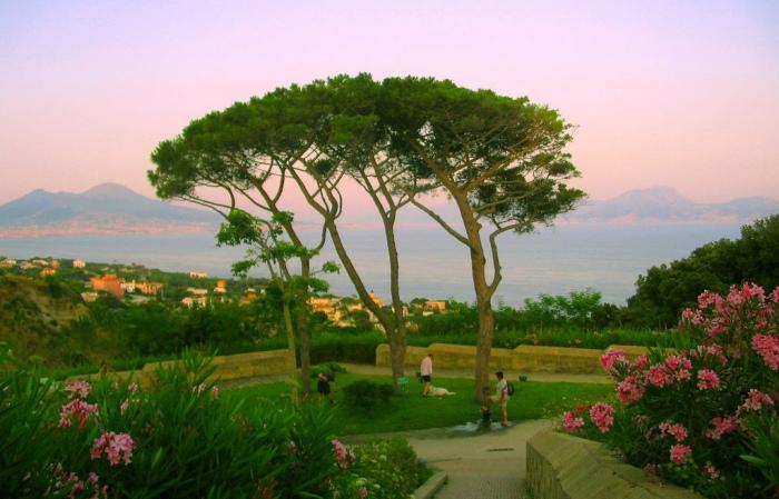 Parco Virgiliano: lo spettacolare parco panoramico sulla strategica collina di Posillipo