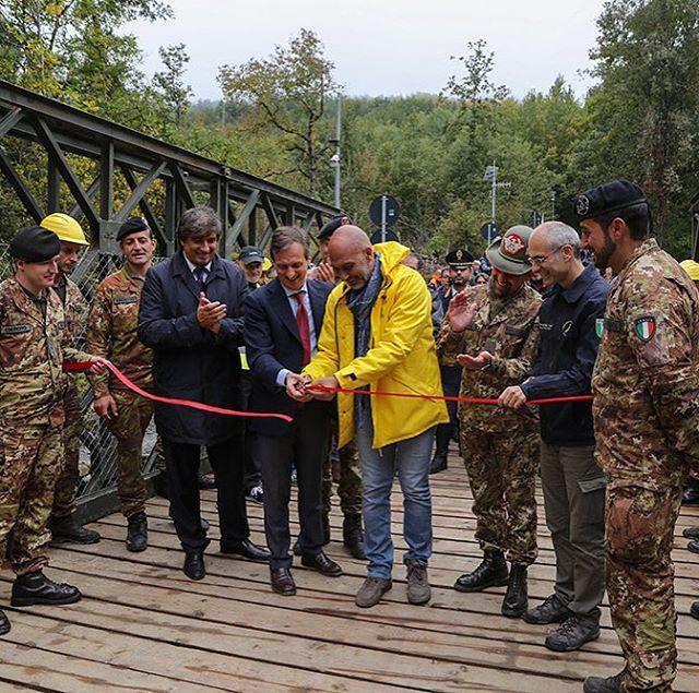 Terremoto Amatrice: inaugurato il nuovo ponte di Retrosi [FOTO e VIDEO]