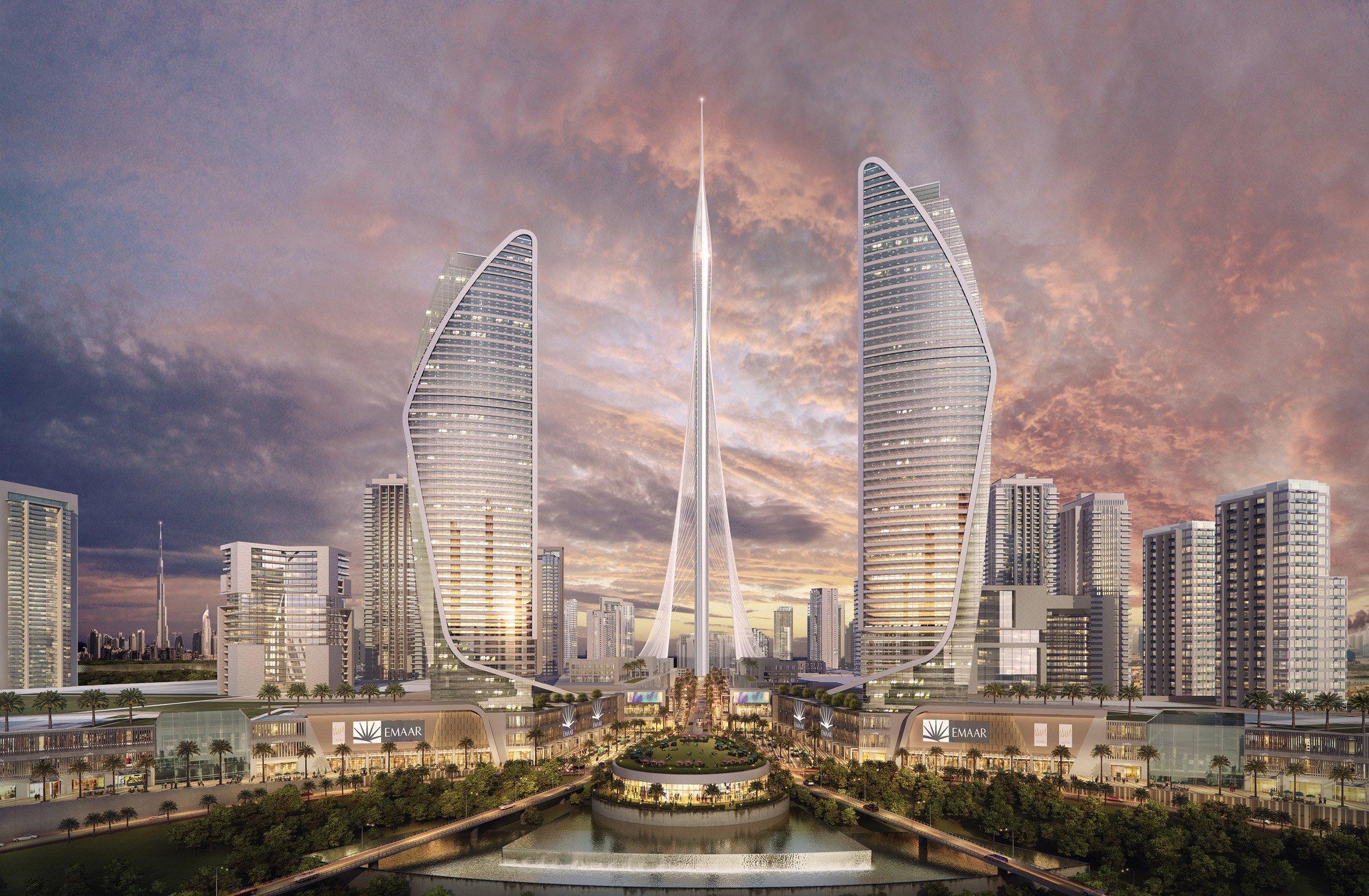 """Ecco il """"The Tower"""" di Calatrava: a Dubai sono iniziati i lavori per costruire il grattacielo più alto del mondo [GALLERY]"""
