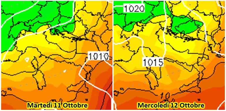 Allerta Meteo, ciclone freddo sull'Italia: tra oggi e domani gli ultimi temporali al Sud, temperature in ulteriore calo