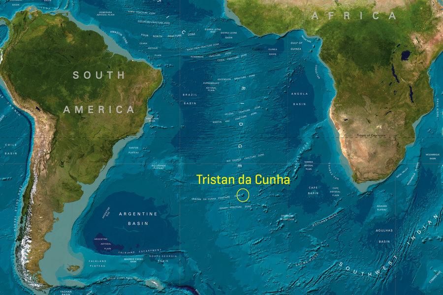 Tristan da Cunha, l'isola abitata più remota del mondo [GALLERY]
