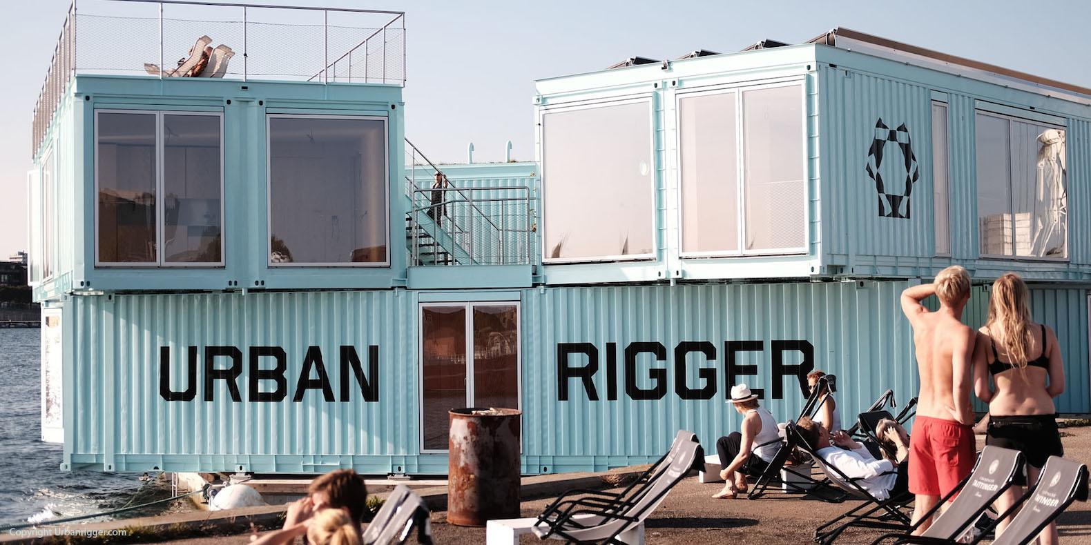 Urban Rigger: la residenza studentesca galleggiante più bella d'Europa