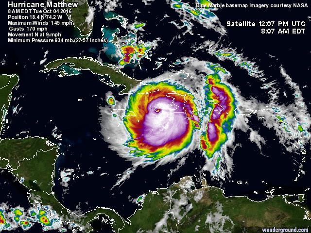 Uragano Matthew, catastrofico landfall ad Haiti: situazione drammatica, grande paura anche a Cuba, Bahamas e USA [LIVE]