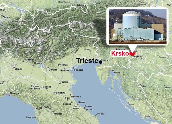 Massima attenzione in Friuli Venezia Giulia per la Centrale termonucleare slovena di Krsko