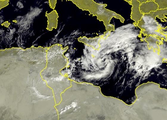 Previsti forti rovesci sulla Calabria ionica