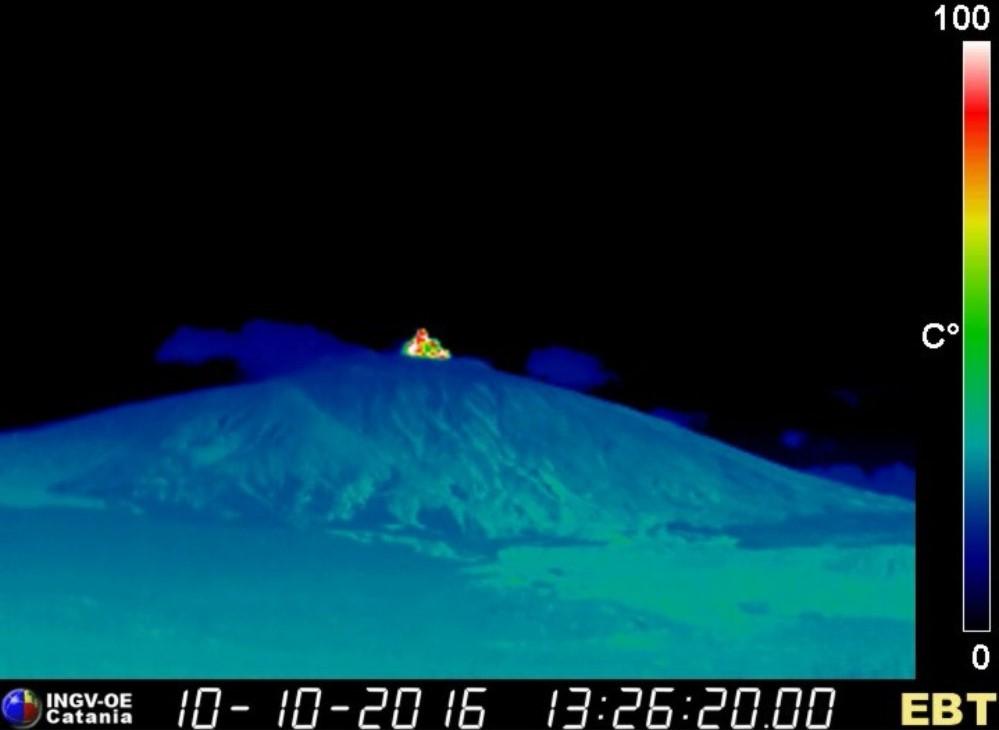 """Etna, l'INGV spiega cosa sta succedendo sul vulcano: """"esplosione nell'area sommitale, eventi sismici associati"""""""