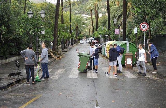 Maltempo Liguria: interventi di messa in sicurezza dopo la devastazione di ieri [FOTO]