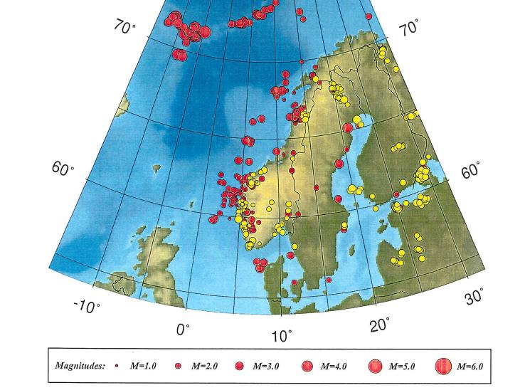 Terremoto in Norvegia, sismicità ed eventi storici nel paese scandinavo [GALLERY]