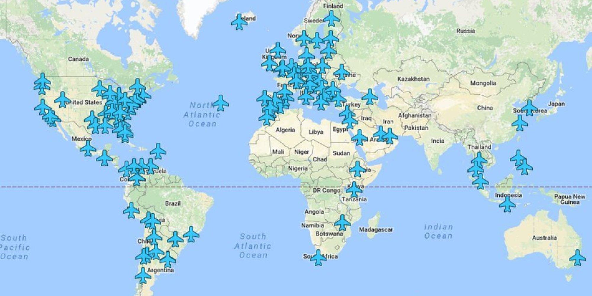 Ecco dove trovare le password di 80 wifi degli aeroporti del mondo