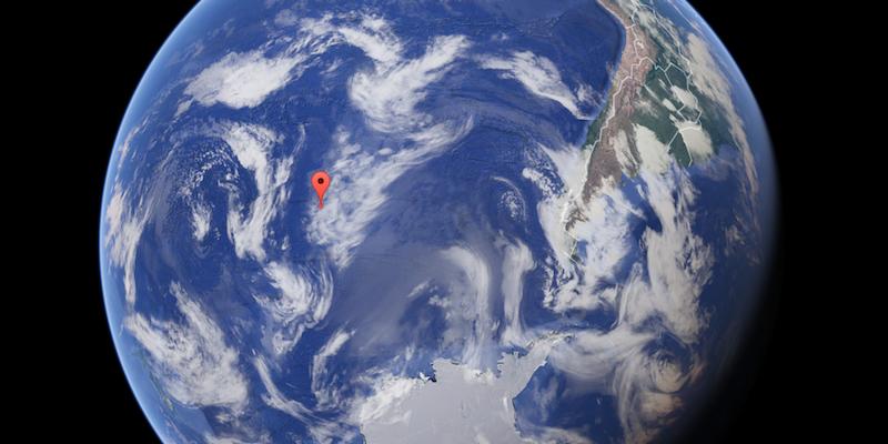 Ecco dove si trova il punto sulla Terra più lontano da qualsiasi costa