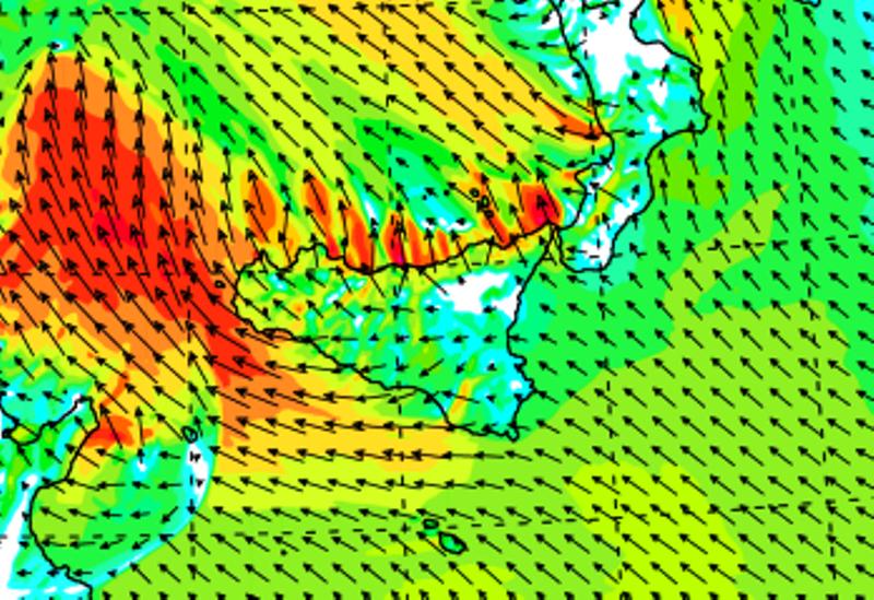 Previsioni Meteo, FOCUS sugli effetti della sciroccata al Sud: Palermo vola a +30°C, ma non sarà solo caldo… [MAPPE]