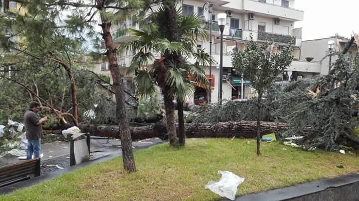 Maltempo Napoli, tornado a Frattaminore: tre feriti. Attivata l'unità di crisi