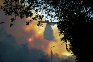 Continuano gli incendi in Israele