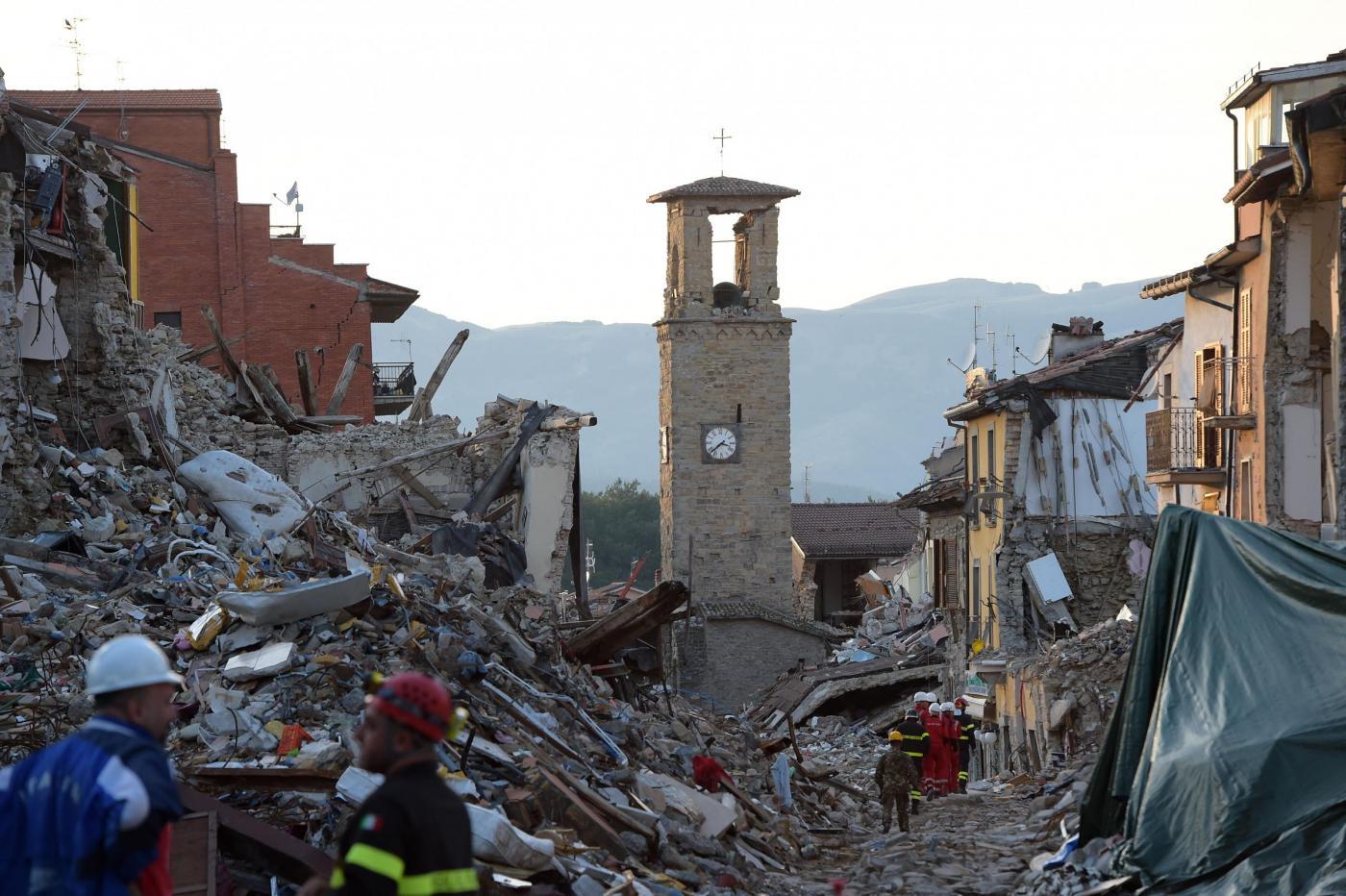 Terremoto Amatrice Il Paese Che Non C E Piu E La Voglia Di