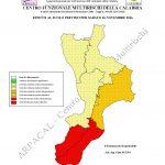 """Allerta Meteo """"al contrario"""" per la Calabria: la protezione civile lancia l'allarme rosso per sabato 26, scuole chiuse a Reggio e provincia?"""