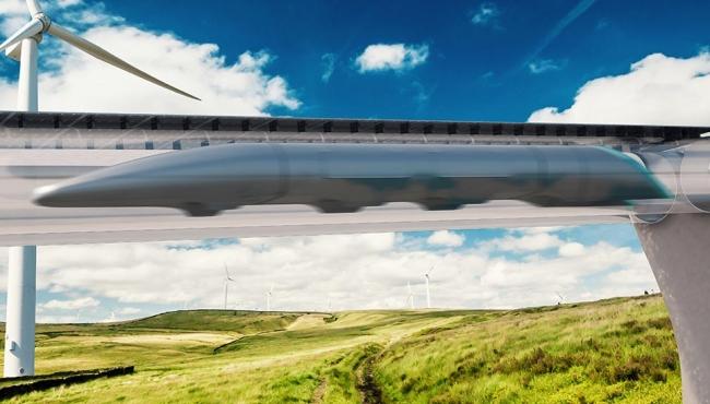 """""""Hyperloop One"""": ecco il treno più veloce al mondo [GALLERY]"""