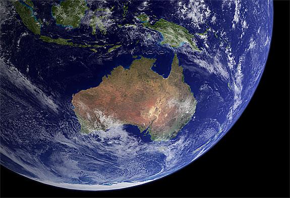 australia spazio