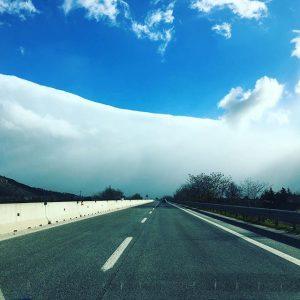 autostrada a25 roma pescara stau neve