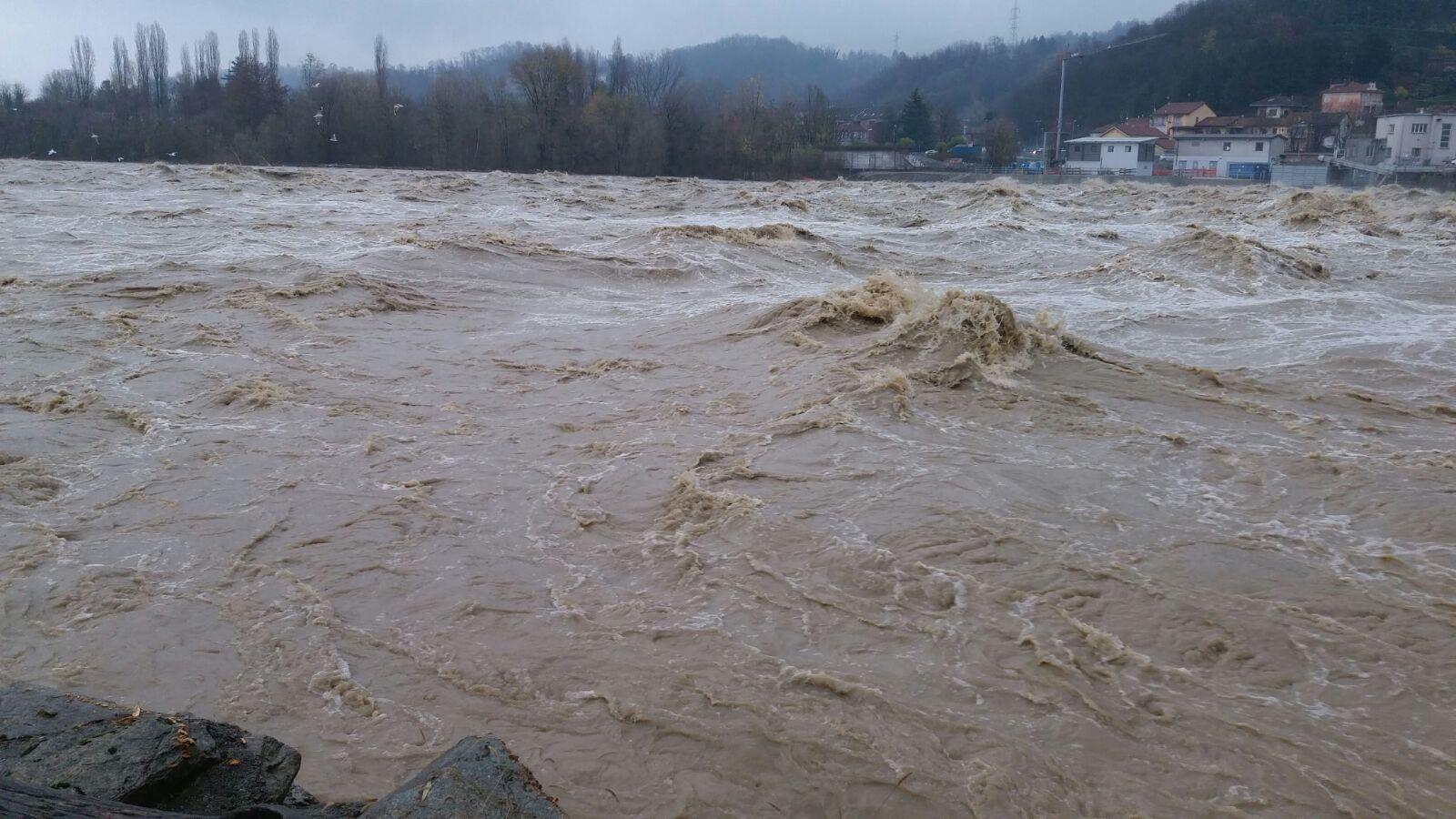 Alluvione Piemonte: Bormida e Po osservati speciali, si attende l'arrivo della piena