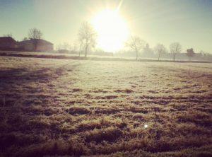 gelo alba pianura padana