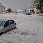 Maltempo in arrivo da Sud, violentissima grandinata in Algeria [FOTO]
