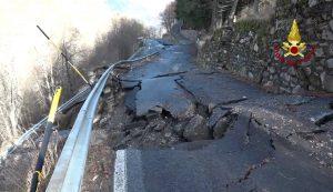 maltempo alluvione liguria frana Monesi foto (7)