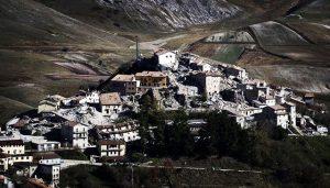 terremoto italia castelluccio