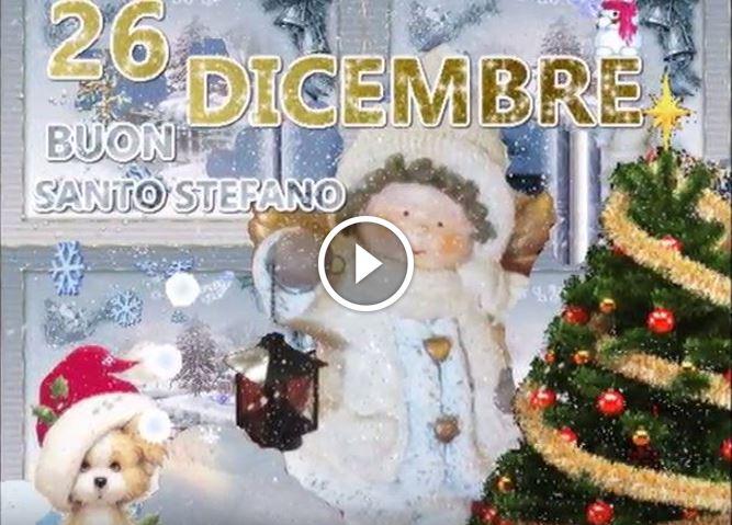 Santo Stefano auguri Buone Feste